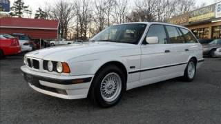 1995 BMW 525i Touring Wagon Start Up, Engine, and In Depth Tour