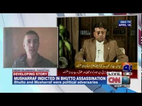 Ex Pakistan ruler Pervez Musharraf indicted in Bhutto murder case