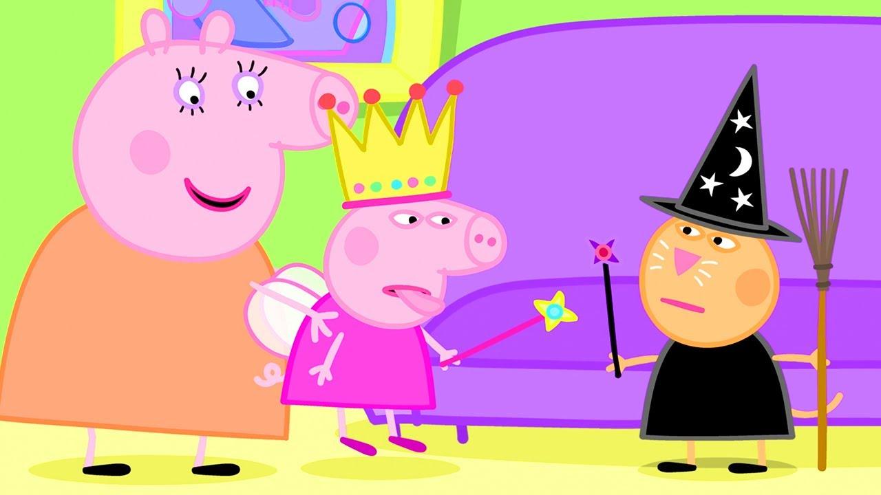 Peppa Pig in Hindi - Fancy Dress Party - Hindi Cartoons for Kids