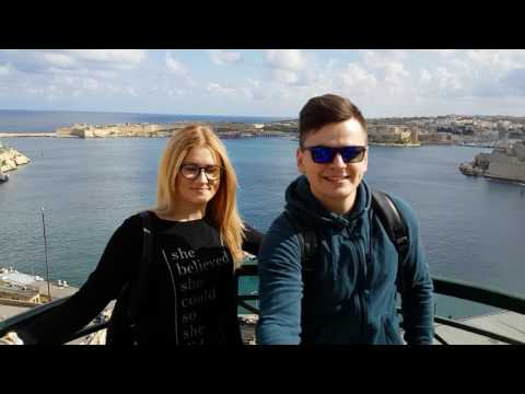 Malta 2017 Winter ( traveling video )