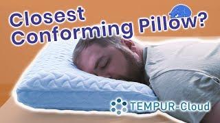 tempur cloud pillow review the best memory foam pillow for you tempurpedic pillow 2019