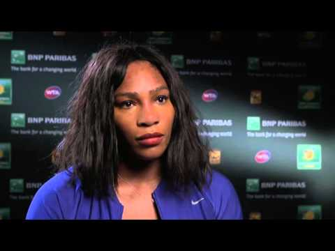 BNP Paribas Open: Serena Williams Awaits Simona Halep in QF