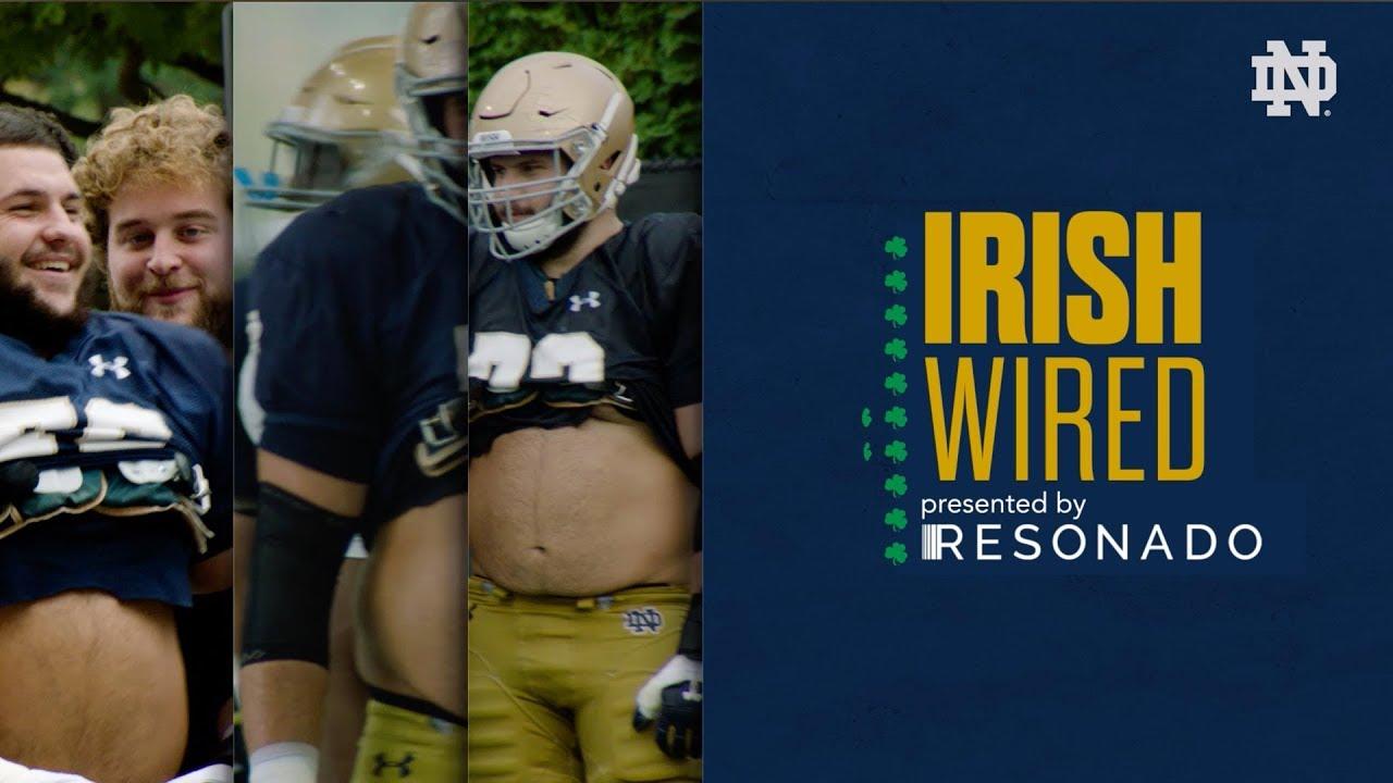 @NDFootball | Irish Wired - Robert Hainsey (2019) - YouTube