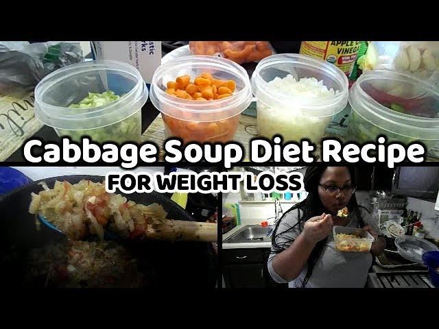 Cabbage Soup Diet Recipe 2019 | Lose 7 lbs in a Week? #1