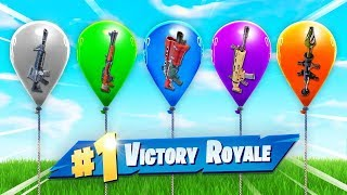 The *RANDOM* Balloon Challenge In Fortnite Battle Royale!