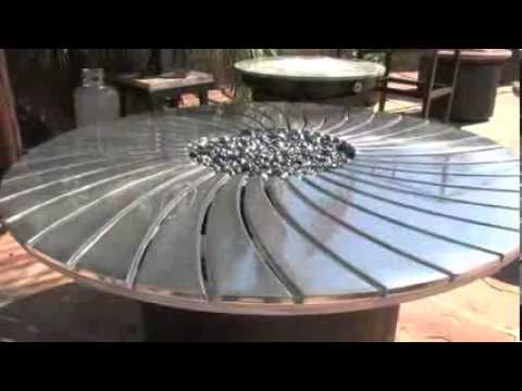 Fire Pit Tables U0026 Outdoor Fire Features   Arizona Backyard Custom