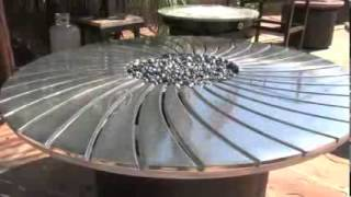 Fire Pit Tables & Outdoor Fire Features - Arizona Backyard Custom