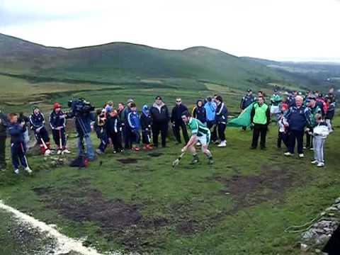 All Ireland Poc Fada 2009- Winners first puck