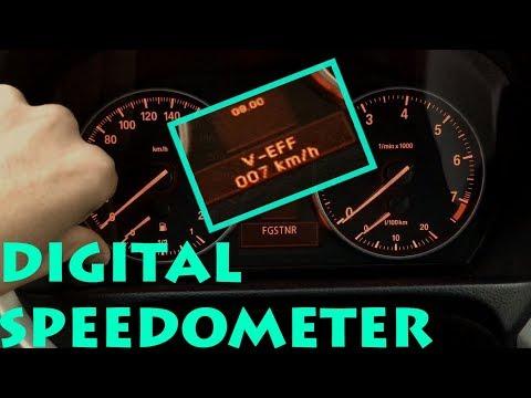 How to add DIGITAL SPEEDOMETER? - BMW E90 E91 E92 E93