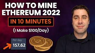 How To Mine Ethereum \u0026 Make Money 2021 Tutorial Setup  N 10 Minutes Guide
