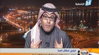 حديث ناقدي المنتصف عن توقيع اللاعب عوض خميس عقدين  مع ناديي الهلال والنصر