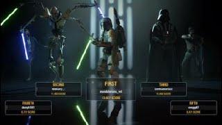 BF2 Heros vs Villans Vader Clean Up