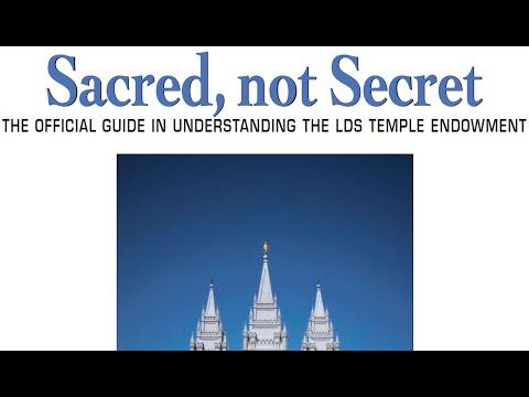 Sacred, not Secret - [VIDEO] B - PREFACE