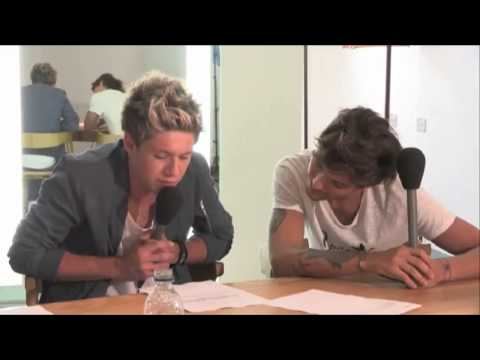 Louis and Niall FULL Interview With Greg...