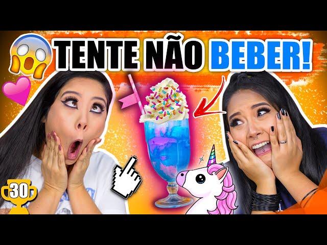 TENTE NÃO BEBER! #ESPECIAL1M | Blog das irmãs