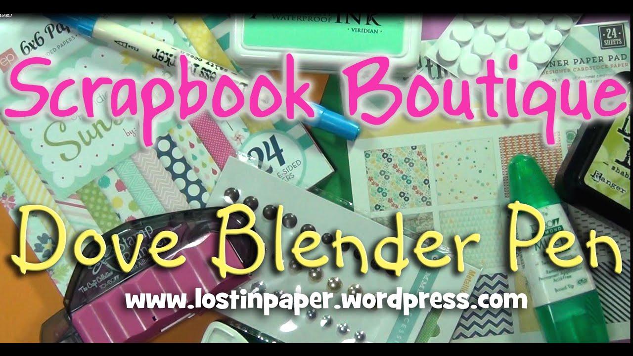 6 New DOVE Blender Pens Refillable Blending Tools Use w// Markers Chalks /& Inks