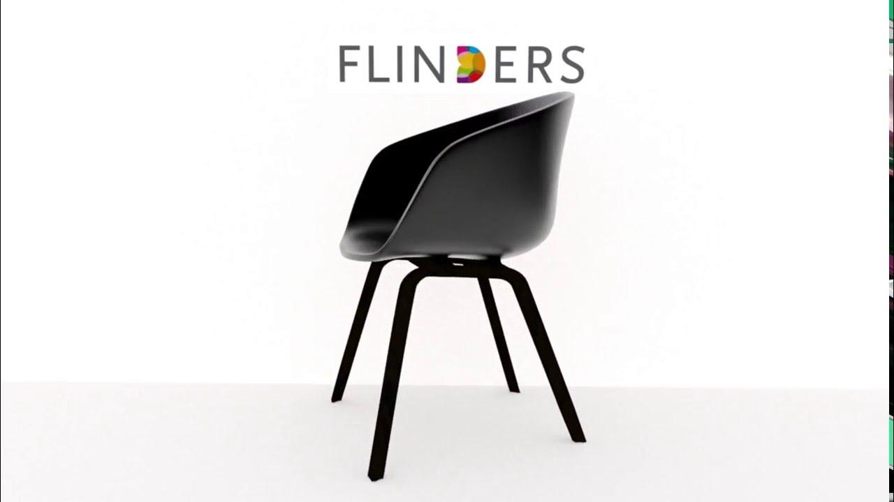 hay about a chair aac22 stoel zwart 360 graden video flinders design chair aac22 black