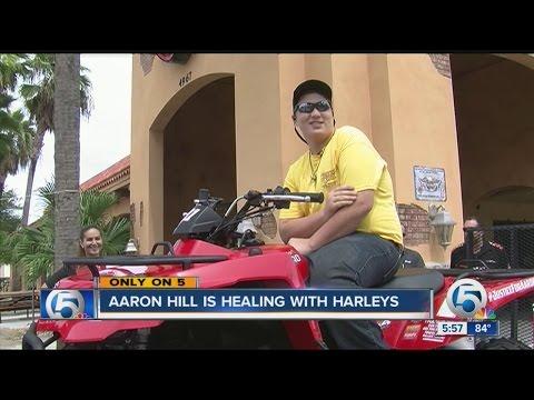 Aaron Hill is healing with Harleys