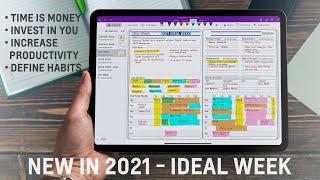 Ideal Week Planning - Personal Digital Planner | #key2successplanner
