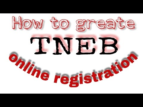 Tneb Online Registration And How To Activate The Account .tneb Online Payment
