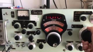 小林無線機のAS-76型受信機をお預かりしました。業務局用の受信機です。...