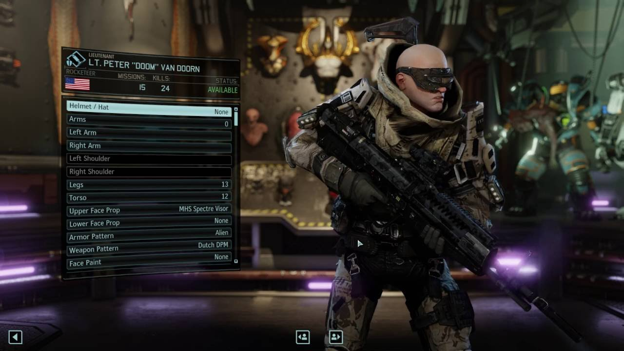 XCOM 2: Weapons and Props Mod Collection