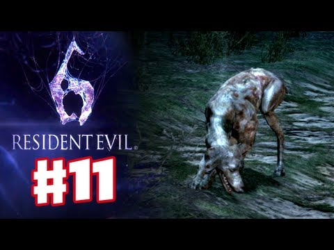 Resident Evil 6 - Cemetery Zombie Dogs |