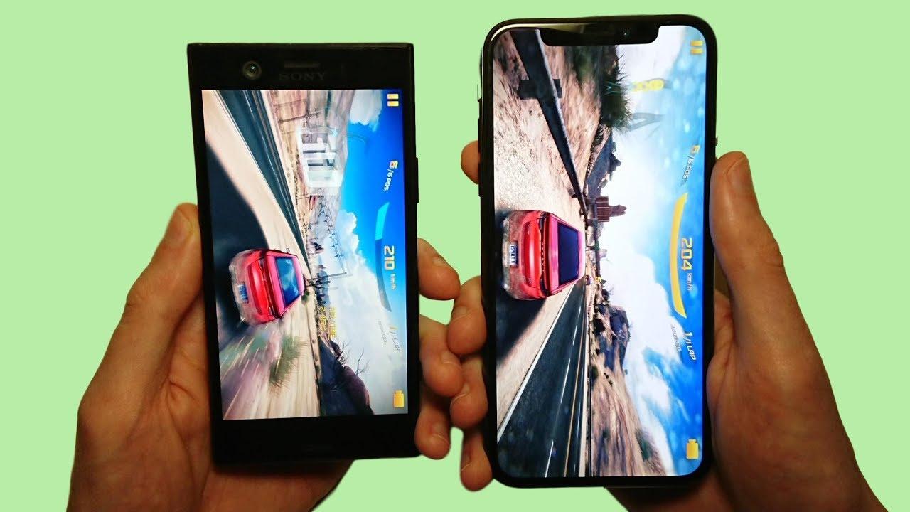 Kindle Vs Sony Reader: Sony Xperia XZ1 Compact Vs IPhone X Speed Test & Camera