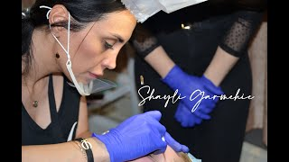 Complete Eyebrows Rebuild Time lapse by Master Shayli