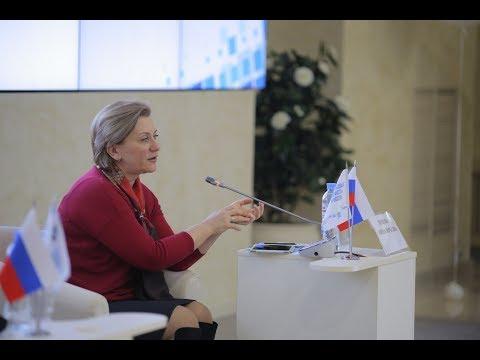 Анна Попова, руководитель Роспотребнадзора