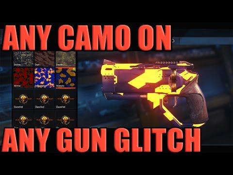 "Black Ops 3 ""Any Camo Any Gun Glitch!"" NEW!!! - (Black Market Camo On Any Gun!)"
