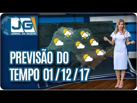 Previsão do Tempo - 01/12/2017