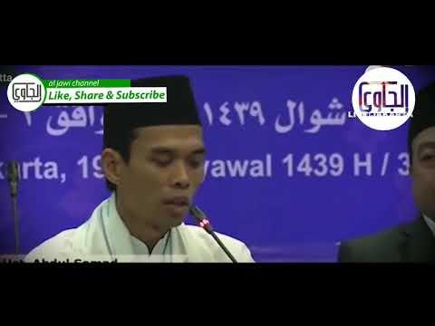 Subtitle Indonesia - Ust Abd Somad bicara bahasa arab pada Pertemuan Ulama Asia Afrika Eropa