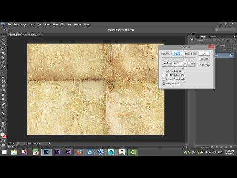 Photoshop Tutorial : How To Create Seamless Textures