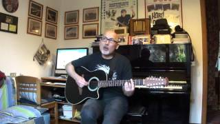 Traveling Wilburys - Where were you last night - playalong cover