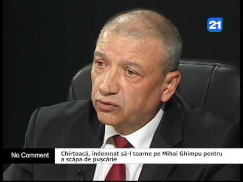 Chirtoacă, îndemnat să-l toarne pe Mihai Ghimpu pentru  a scăpa de puşcărie