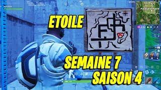 ETOILE SEMAINE 7 : CARTE TRESOR PLEASANT PARK SAISON 4