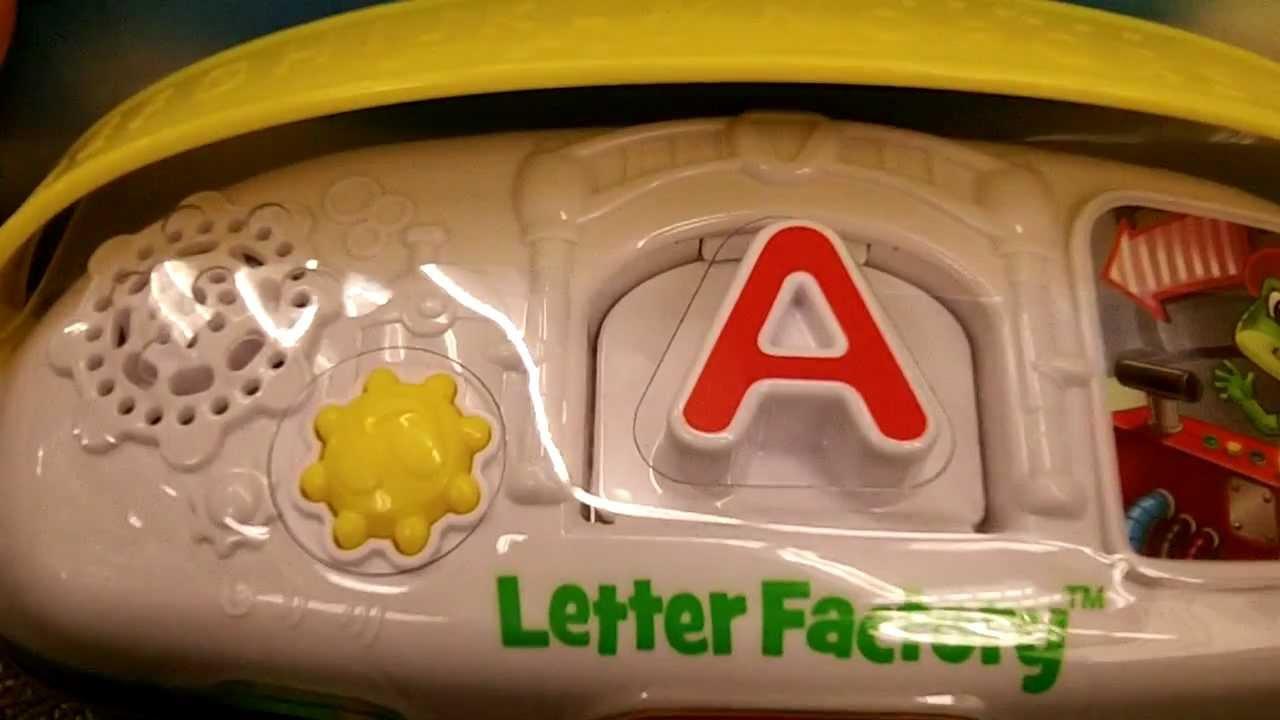LeapFrog Letter Factory Phonics  YouTube