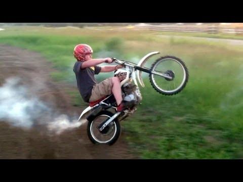 Honda XR100 Motocross Goon Riding