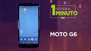 Moto G6 - Vale a Pena? | REVIEW EM 1 MINUTO - ZOOM