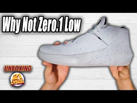 buy popular 55110 01bc7 Unboxing Jordan Why Not Zero.1 Low