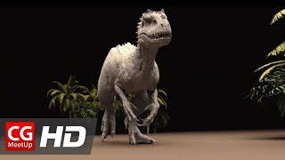 Jurassic World Indominus Rex Walk Cycle by ILM | CGMeetup