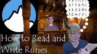 How to read and write in Runes