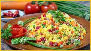 Cơm Chiên Trứng trộn trứng sống rồi chiên mới NGON | Simple Fried Rice Awesome