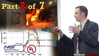 Part 2 of 7: (Fire Environment) NIST & UL Research on Fire Behavior & Fireground Tactics