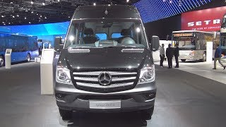 Mercedes-Benz Sprinter Tourer 16+1 416 CDI Combi Bus Exterior and Interior
