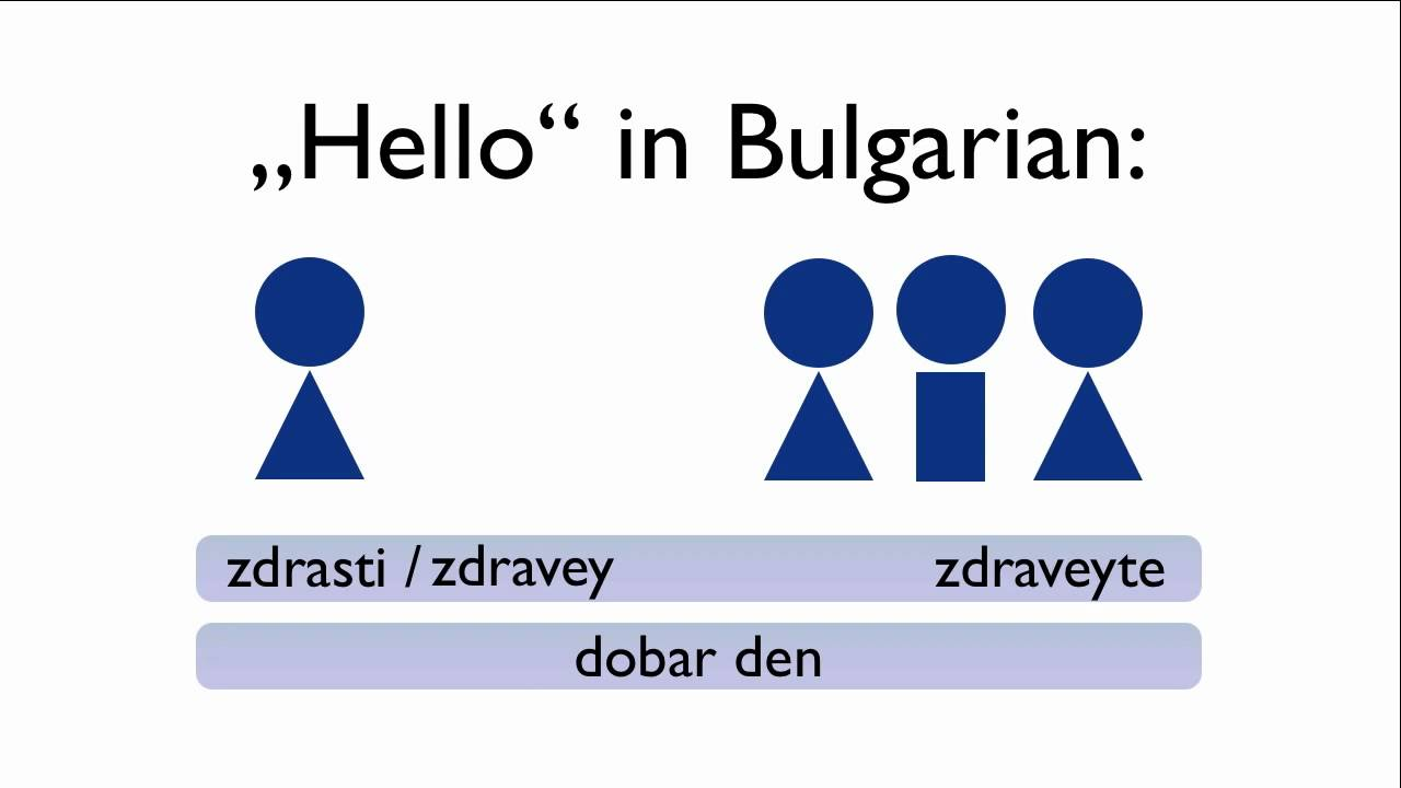 Learn Bulgarian - Speak Bulgarian - Teach Yourself Bulgarian