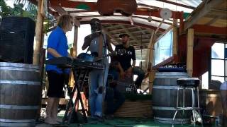 Bankie Banx, David Bryan, and British Dependency at The Dune Preserve, Anguilla 04/17/2011