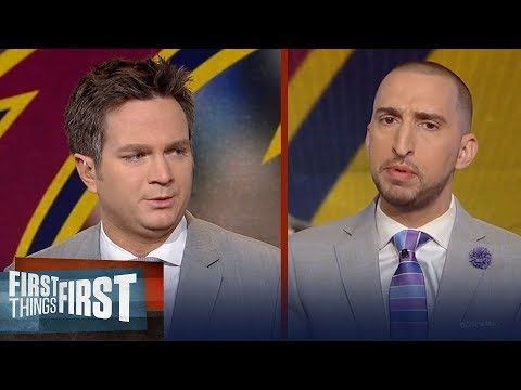 Nick Wright and Yahoo's Chris Mannix discuss LeBron's NBA reign   FIRST THINGS FIRST