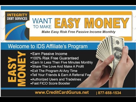 Credit Card Gurus, Tradelines, Authorized Users, FICO Score Booster, Integrity Debt Services
